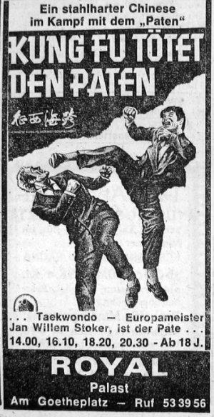 Kung Fu tötet den Paten