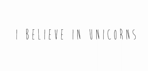 ibelieveinunicorns